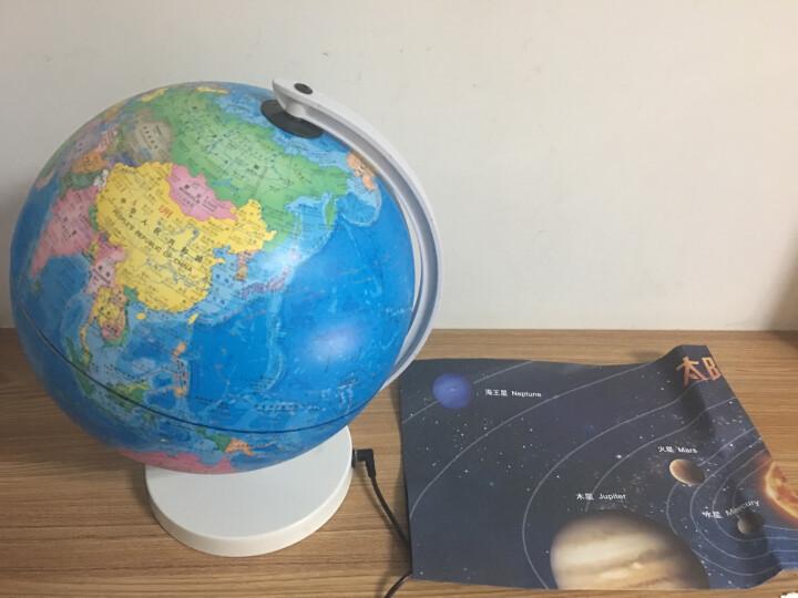 北斗儿童地球仪·AR地球仪23厘米(儿童地球仪启蒙版 节日礼物) 晒单图