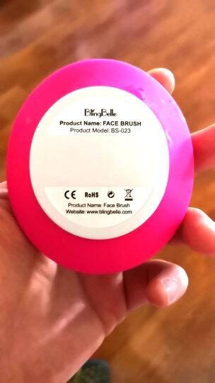 BlingBelle德国贝尔二代无线充电电动硅胶洁面仪男女毛孔清洁器贝儿刷洗脸仪脸部美容仪器 玫红色 晒单图
