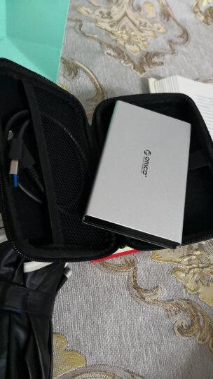 奥睿科(ORICO)移动硬盘盒2.5英寸 SATA串口笔记本硬盘Type-C外置盒子 铝合金固态机械ssd硬盘壳 银色2528C3 晒单图
