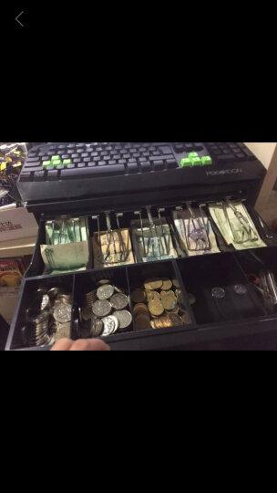浩顺(Hysoon)405mm宽钱箱收银箱收款箱五格三档带锁收款机钱箱可使用钥匙开锁独立使用 晒单图