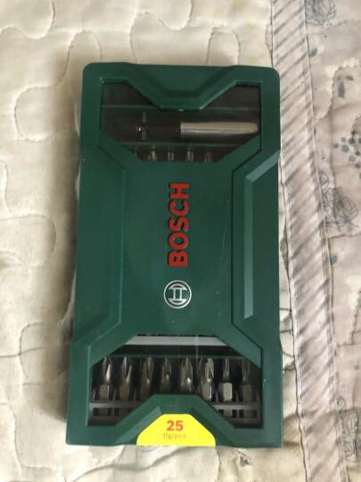 博世(Bosch)10支起子批头混合套装(各种型号的一字+十字起子头) (2607019454) 晒单图