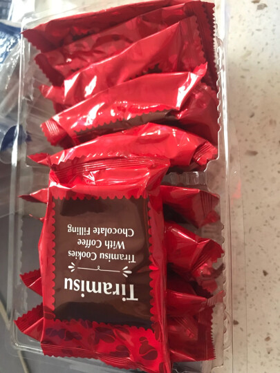 马来西亚进口TATAWA塔塔瓦曲奇饼干120g*3包 果酱巧克力酱心软陷夹心曲奇饼干零食 120g*3袋(葡萄干巧克力味) 晒单图