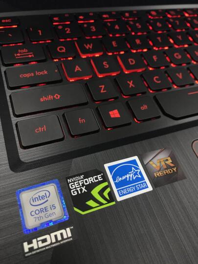 华硕(ASUS) 飞行堡垒四代FX63VM GTX1060 6G 120Hz高速电竞屏游戏笔记本电脑(i5-7300HQ 16G 128GSSD+1T)黑 晒单图