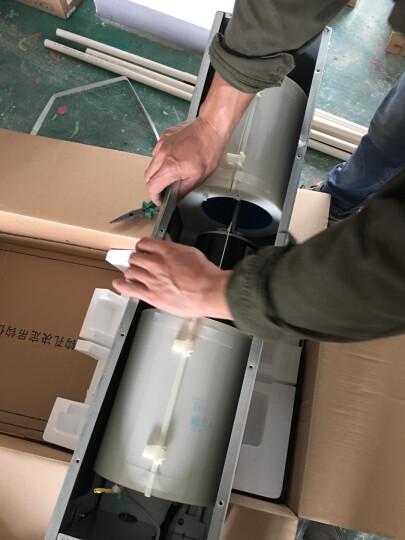 奥克斯(AUX)中央空调一拖四 家用 多联机小6匹 一级能效变频 3D面板 包安装 6年包修DLR-140W/DCZ6 晒单图