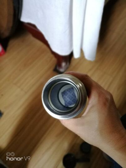 哈尔斯(HAERS)保温杯304不锈钢男女便携运动水杯户外车载茶杯水杯子随身保温壶 玫瑰金500ml 晒单图