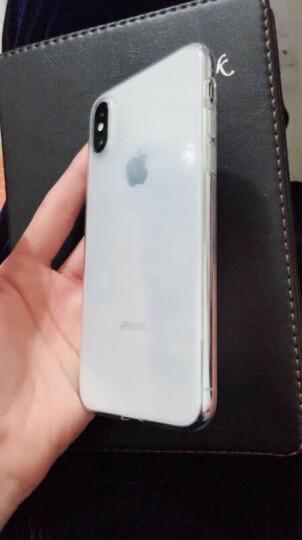 第一卫 苹果X/XR/XSMax手机壳iPhone XS Max保护套xr外壳超薄透明男女防摔硅胶套 透明壳【X 专用】 晒单图