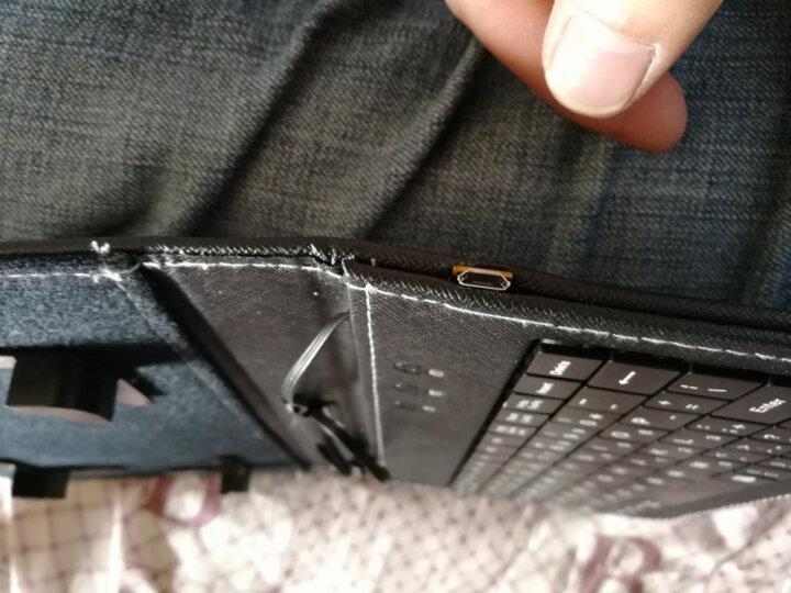 优肯思 手机键盘鼠标套装华为Mate10/Pro手机壳P10/P9plus荣耀V9/8配件 黑色 晒单图
