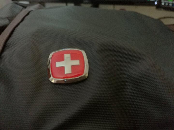 SWISSGEAR商务双肩电脑包15.6英寸笔记本时尚背包多功能大容量旅行包男女书包 SA-9898棕色 晒单图