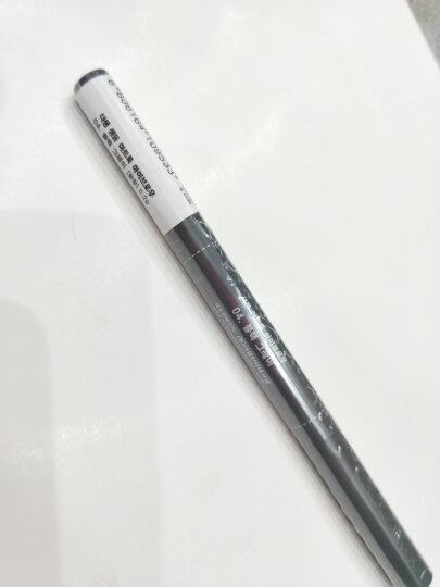 韩国进口 得鲜(The saem)双头自动旋转眉笔眉刷 4#黑灰色 0.2g/支 防水防汗自然持久 一字眉初学者 晒单图