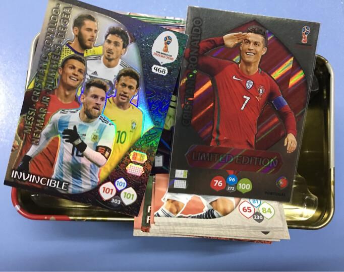 帕尼尼2018俄罗斯世界杯官方球星卡限量铁盒  世界杯纪念收藏品 克罗地亚莫德里奇+10包卡 晒单图