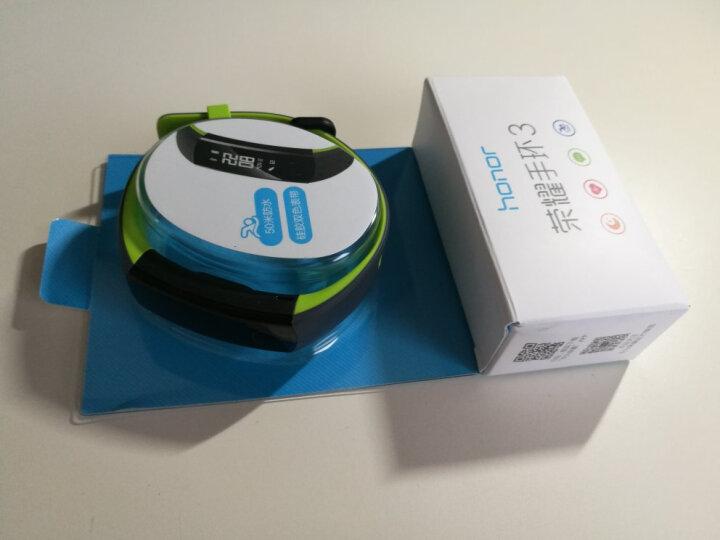 荣耀手环3 智能运动 50米防水 24小时心率检测 科学睡眠监测 来电拒接 适配iOS&安卓 活力橙 晒单图