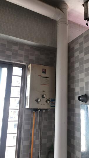 樱花(SAKURA)12升速热防冻 燃气热水器天然气JSQ22-A(88H802-12A) 液化气 晒单图