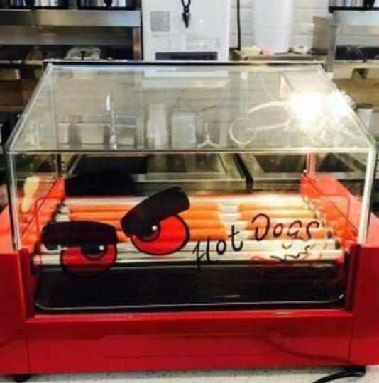 VERLY 商用烤肠机 家用热狗机烤香肠火腿肠机 5管带门 晒单图