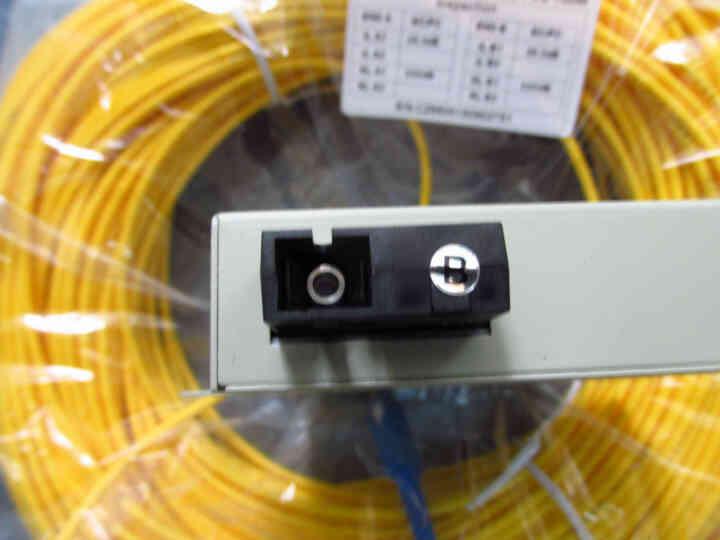 川正(CIZI-OP) 232/485/422三合一光猫光电转换器单模单纤SCF FC接口 晒单图