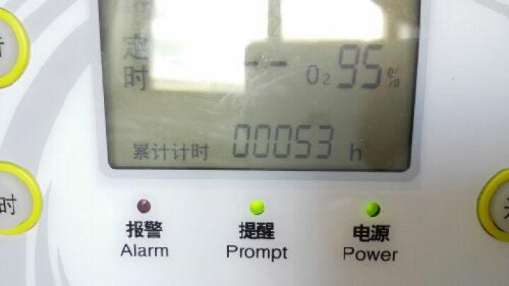 神鹿制氧机 家用氧气机医用吸氧机3C-550  带雾化 带氧浓度监测 手机单特惠 +送血压计+面罩+三通+2米3根 晒单图