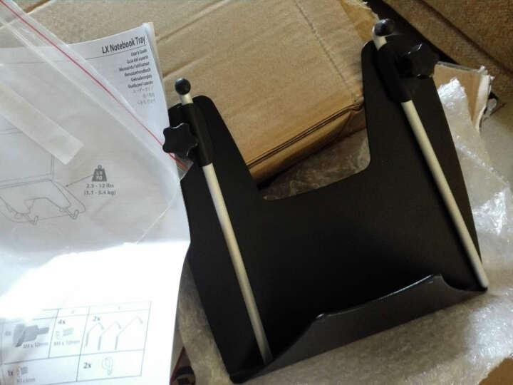 爱格升(ERGOTRON) 电脑支臂液晶显示器支架壁挂旋转45-243-026 支架+笔记本托盘 晒单图