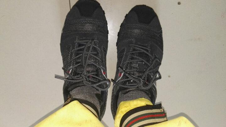 MODYF劳保鞋男透气钢包头防砸防刺磨功能安全鞋穿耐工作鞋男 黑灰色+真皮+网面 42 晒单图