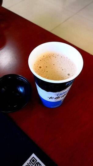 蓝岸(PACA) 速溶咖啡 卡布奇诺 拿铁三合一速溶咖啡粉饮料25g杯装花式咖啡 椰香白咖啡6杯 晒单图