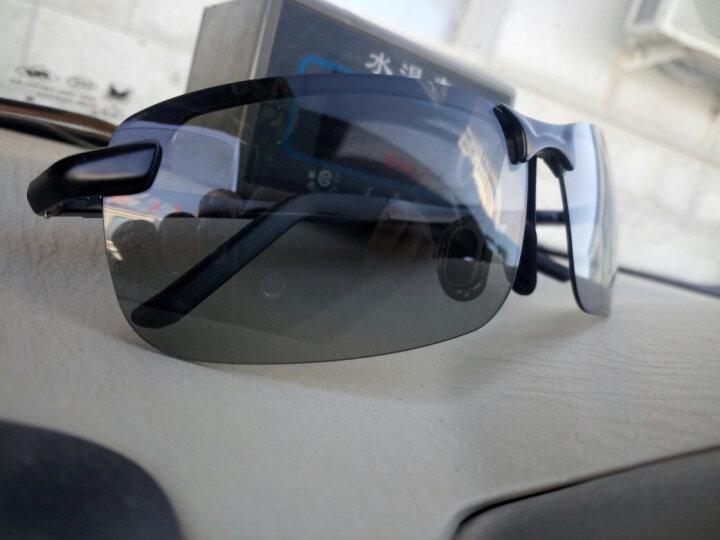 日夜两用偏光铝镁变色太阳镜护目镜驾驶墨镜男士眼镜男司机开车钓鱼运动潮人眼睛夜视镜防远光灯专用 A3043黑框变灰片(变色偏光镜)日夜两用 晒单图