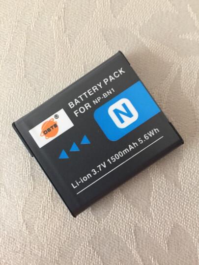 蒂森特(dste)索尼 NP-BN1 适用  DSC-W800 W810 W830 DSC-WX220 W730 WX100 WX9 卡片相机电池 备电 晒单图