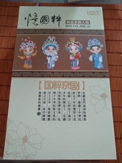 中国风创意礼品结婚礼物中国特色礼品送老外京剧脸谱餐具礼品公司商务定制礼品实用员工福利 书生三件套+礼品盒包装 晒单图