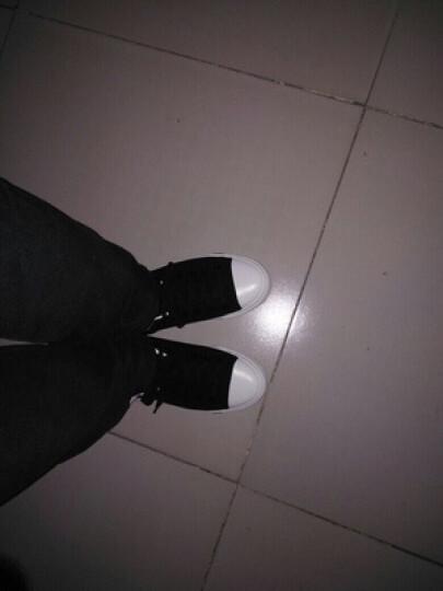回力男鞋2018春夏新款休闲低帮帆布鞋纯色复古白搭男女情侣板鞋透气运动鞋学生鞋 709白色 34码 晒单图