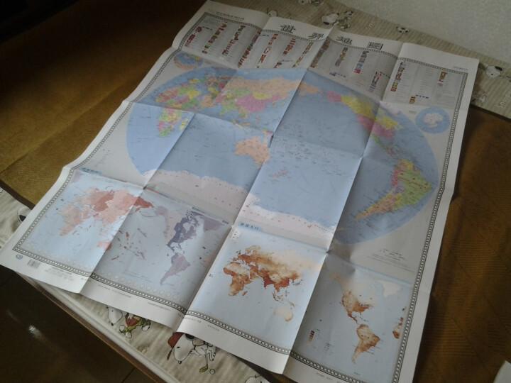 国家版图系列地图·世界地图(竖版1全)(1:42000000) 晒单图