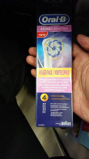 博朗(Braun)欧乐B EB60-4 超细毛电动牙刷头 4支装 晒单图