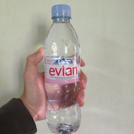 法国进口 依云(EVIAN)矿泉水 500ml*30瓶/箱 塑料瓶(整箱出售) 晒单图