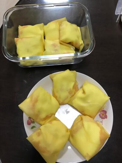【欧福速冻蛋皮10片装】芒果班戟皮千层蛋糕皮成品原味 晒单图