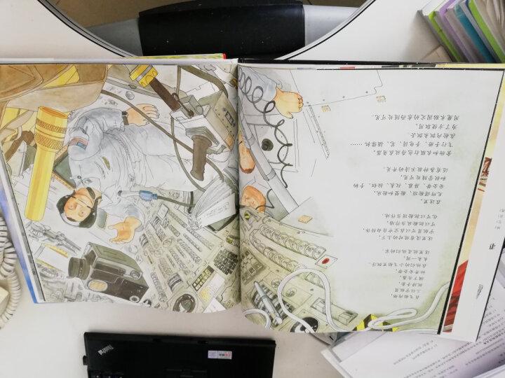 信谊绘本世界精选图画书:月下看猫头鹰 晒单图