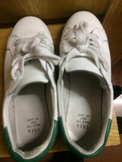 Belle/百丽冬时尚休闲切尔西油皮牛皮女皮靴3C3Y4DD7 黑色 37 晒单图