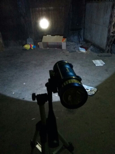 MFREE 钓鱼灯 10w蓝白双光源变焦夜钓灯户外充电式强光远射手电筒 双头款 晒单图