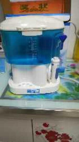 乐康电动洗鼻器喷雾式脉冲成人儿童鼻炎鼻腔冲洗器壶洗鼻盐 (电动洗鼻器1台+洗鼻盐1盒60包) 晒单图