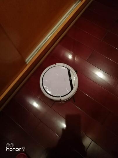 ILIFE智意 扫地机器人轻薄智能吸尘器扫拖一体清洁宠物毛发吸小米粒石头家用擦地V3P大水箱 珍珠白 晒单图