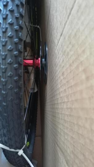 邦德富士达 富士达 33速铝合金车架双碟刹轻量化车架自行车 男女士山地车学生单车越野车 黑绿色线碟版 S350-9 晒单图