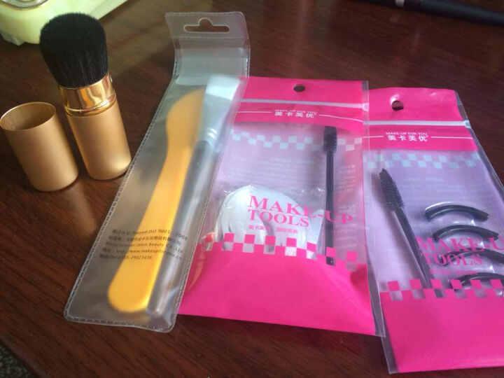 美卡芙优(MAKE-UP FOR YOU) 化妆刷保护网套 刷头套毛头套 化妆刷定型网套 白色短款10条装 晒单图