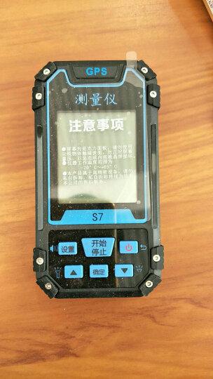 易力S7手持gps经纬度定位仪卫星定位户外导航仪海拔坐标面积距离测亩仪测量仪器 黑色 117mm*61mm*20mm 晒单图