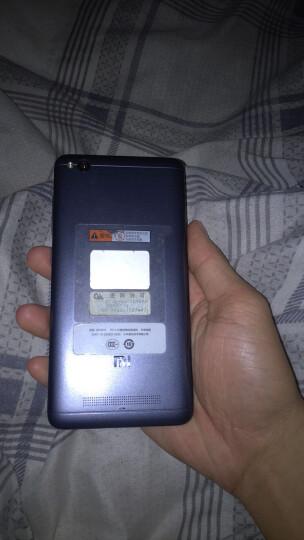 【超值套装】小米 红米 4A 全网通 2GB内存 16GB ROM 深空灰 移动联通电信4G手机 双卡双待 晒单图