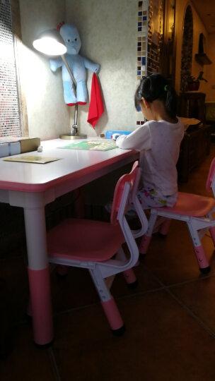 妈妈亲(MAMAQIN)儿童桌椅套装宝宝小桌子椅子幼儿园书桌玩具桌游戏桌学习桌 贝赫尔绿色一桌两椅(120*60) 晒单图