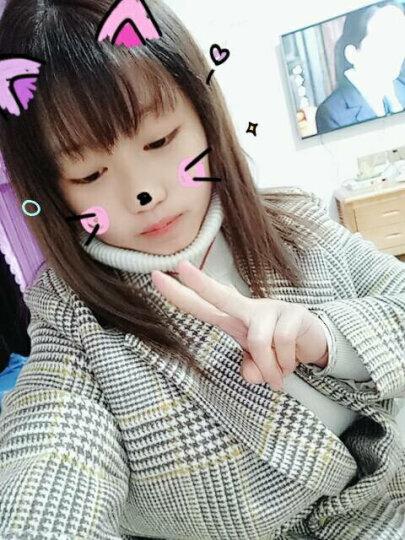 Xivi昕薇毛呢半身裙女2017冬季新款韩版修身格子高腰加厚A字裙子短裙 格子 S 晒单图