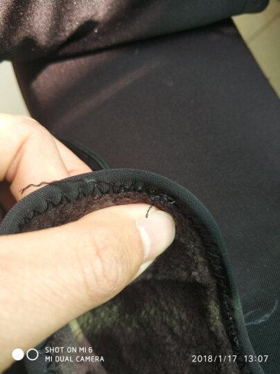镖王保罗男靴头层牛皮工装马丁靴男韩版运动棉靴真皮短靴子 215152黑色-加绒款 40 晒单图
