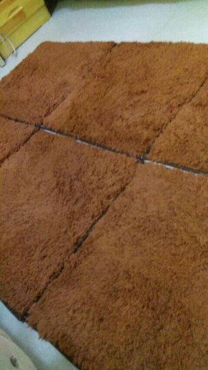 【2件8折 3件7折】加厚拼接绒客厅门厅卧室茶几地毯满铺床边榻榻米毯 象牙白 2 晒单图