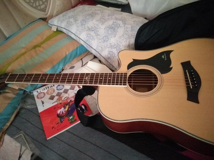 卡马 kepma吉他41寸初学者入门民谣木吉它乐器 升级款 卡马D1C哑光原木色 晒单图