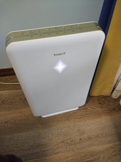 格力大松(TOSOT)空气净化器无耗材家用静音负离子净化器除雾霾二手烟KJ200F-A01 晒单图