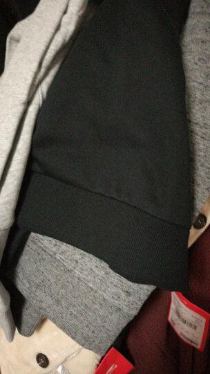 李宁卫衣男 新款训练系列男子套头无帽卫衣韦德针织圆领套头衫运动服AWDK397 花灰397-3 XL/180 晒单图