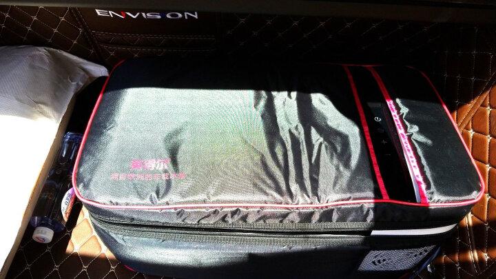 英得尔T12R豪车标配四季通用车载冰箱压缩机制冷小保温车家两用迷你 晒单图