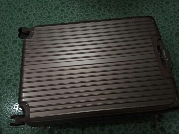 香港GMP528拉杆箱 旅行箱行李男士女士登机箱20/24/26/29英寸箱包 玫瑰金 20英寸 登机箱 晒单图