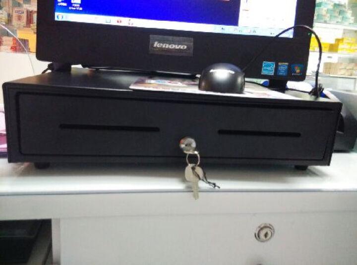 逊镭(NTEUMM)豪华405五格三档锁收银机钱箱 POS收款机收银箱 超市钱柜 黑色 晒单图