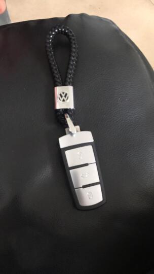 途爵 汽车钥匙扣 手编绳钥匙链腰挂钥匙圈匙环挂件 男士女士汽车用品配件装饰 保时捷卡宴Macan帕拉梅拉911 咖啡色 晒单图